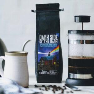 dark sid eof the barn coffee